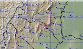 Un temblor despert� a la capital